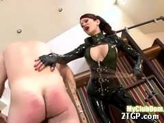 Sweltering babe-in-arms Angie modish shiny black spandex spanks a man difficult and wrinkled Cat: femdom June 25, 2017